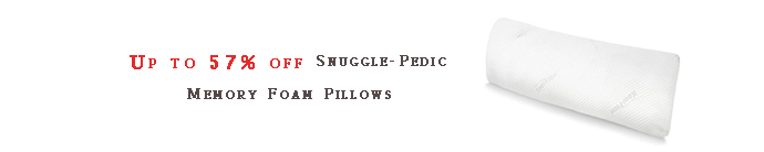Snuggle-Pedic Memory Foam Pillows