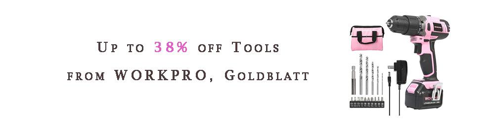Tools from WORKPRO, Goldblatt