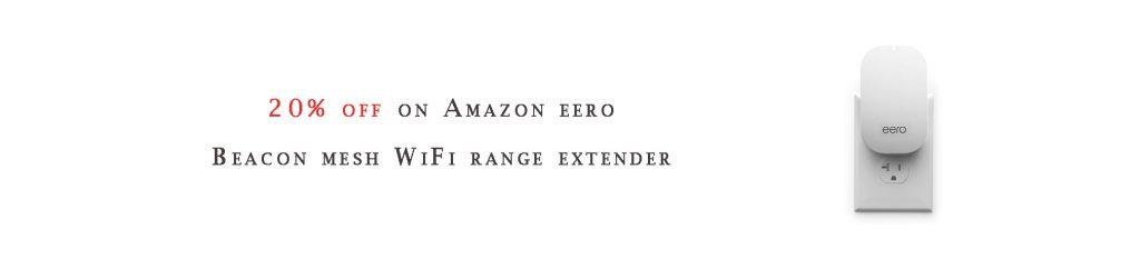 eero Beacon mesh WiFi range extender