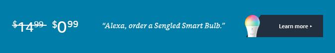 $0.99 Sengled Smart Bulb