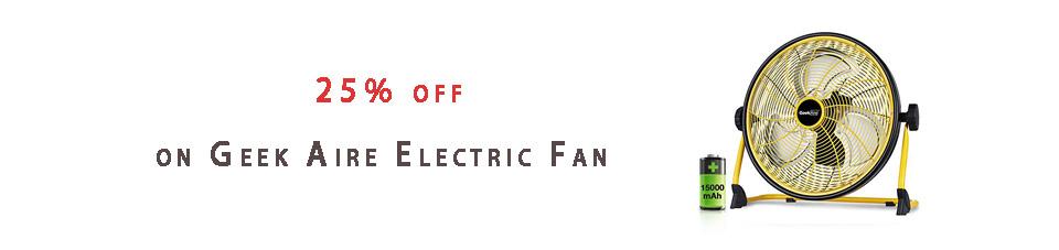 Geek Aire Electric Fan