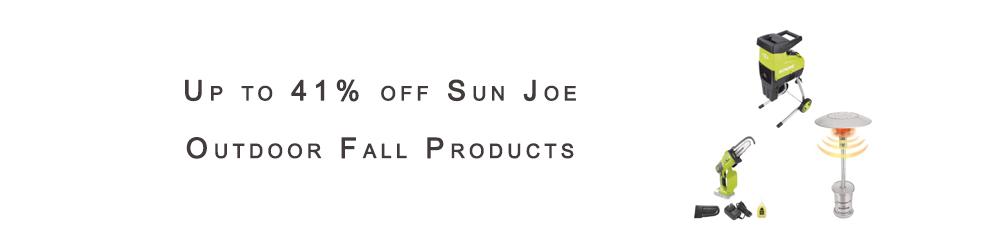 Sun Joe Outdoor Fall Products