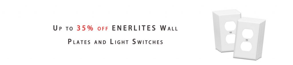 ENERLITES Wall Plates and Light Switches