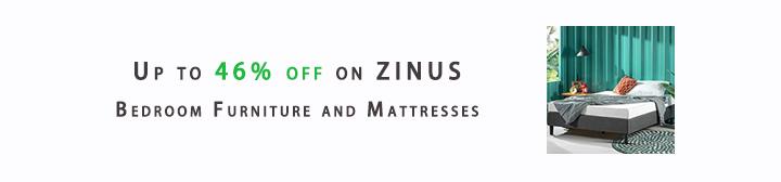 ZINUS Bedroom Furniture and Mattresses