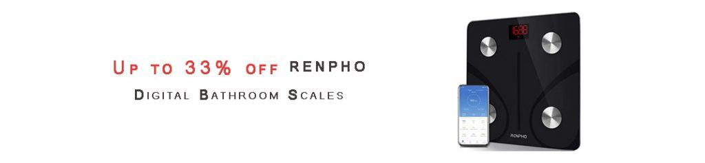 RENPHO Digital Bathroom Scales