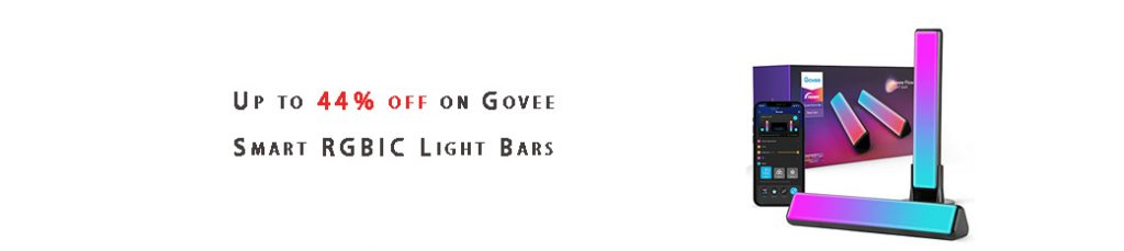 Govee Smart RGBIC Light Bars