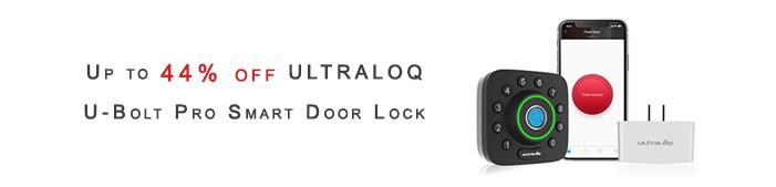 ULTRALOQ U-Bolt Pro Smart Door Lock