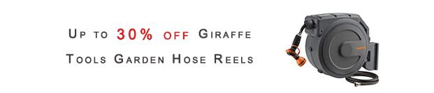 Giraffe Tools Garden Hose Reels